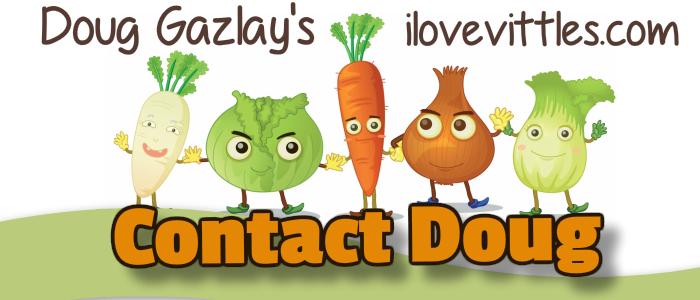 Doug Gazlay's ILoveVittles.com CONTACT DOUG