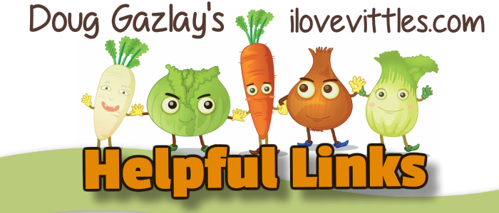 Doug Gazlay's ILoveVittles.com HELPFUL LINKS