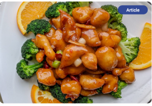 Orange Chicken Recipe- Doug Gazlay's ILoveVittles.com