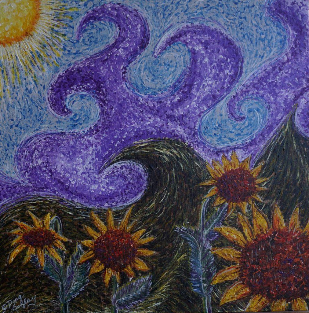 SUNNY FLOWERS - 2018 - Doug Gazlay