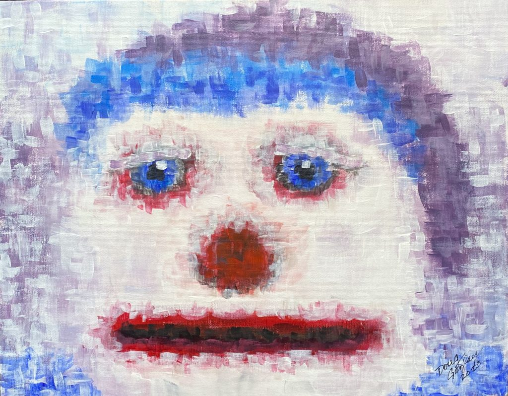 DIGITAL SNOWMAN (2020) Doug Gazlay