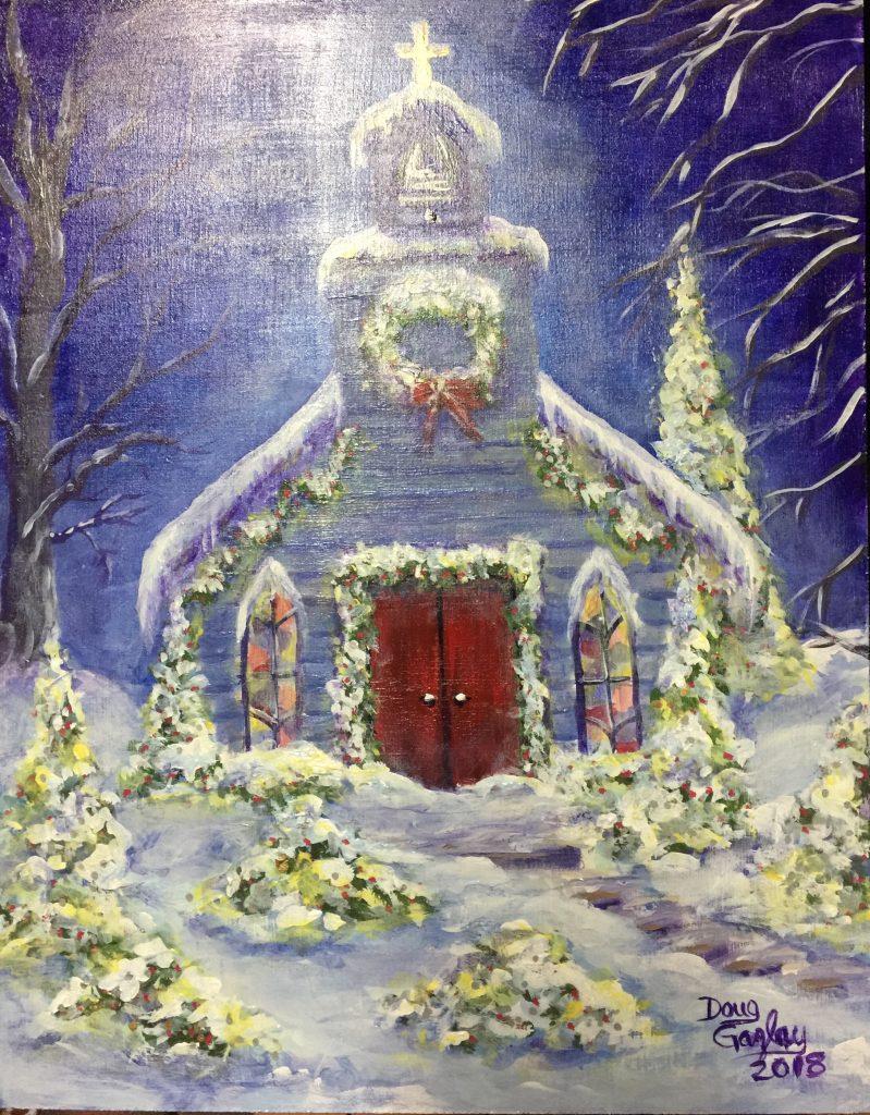 CHRISTMAS EVE CHURCH (2018) Doug Gazlay