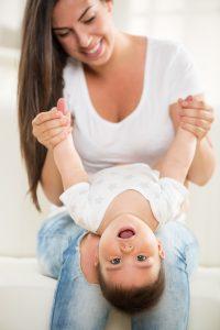 mother-and-baby Doug Gazlay's ILoveVittles.com