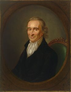 Portrait_of_Thomas_Paine- Doug Gazlay's ILoveVIttles.com